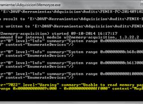 Automatizando la extracción de evidencia forense en Windows