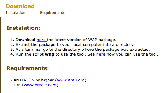 wap Web Application Protection