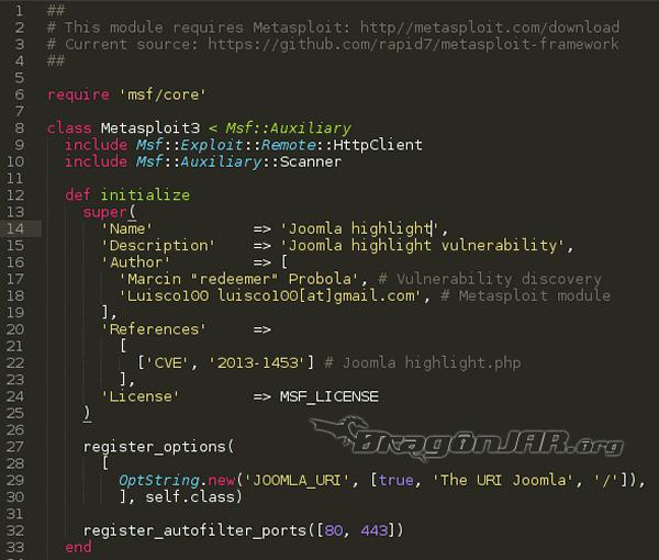 Desarrollo de modulos Metasploit-4