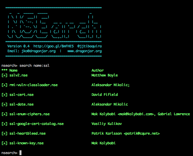 nsearch-pretty-output