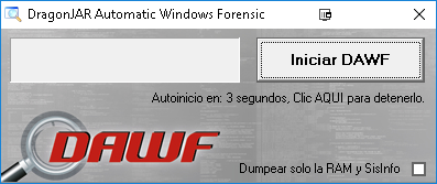 DAWF (DragonJAR Automatic Windows Forensic)