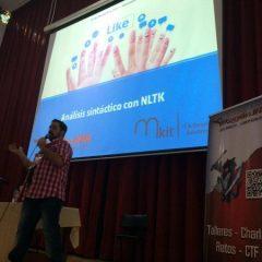 Análisis Sintáctico con NLTK – Cristian Amicelli – DragonJAR Security Conference