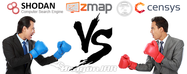 Shodan vs Scans.io vs Censys.io vs ZMap vs Mr Looquer