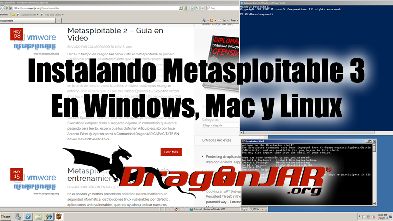 Metasploitable 3, Instalación en GNU/Linux, Windows y Mac OS