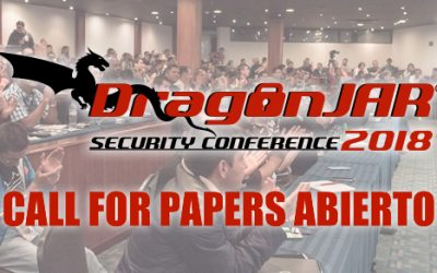 Call for Papers abierto para el DragonJAR Security Conference 2018