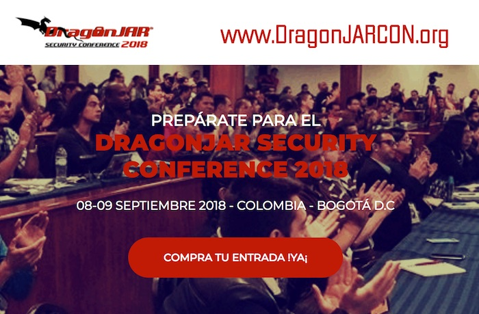 Novedades del DragonJAR Security Conference 2018