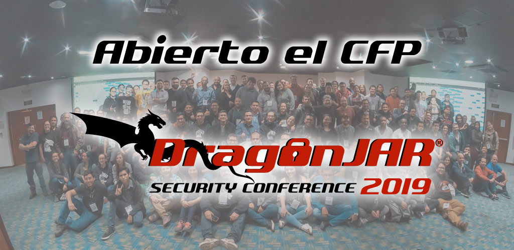 Call for Papers abierto para el DragonJAR Security Conference 2019