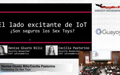 El lado Excitante de IoT – Pentesting de sex toys